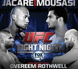 UFC Fight Night: 'Jacare' vs. Mousasi full video highlights