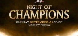 WWE Night of Champions 2014 live results and updates