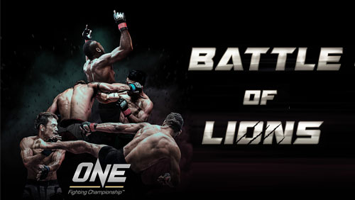 ONE FC adds 3 bouts to 'Battle of Lions'
