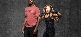 REEBOK partners with UFC champions Jon Jones and Ronda Rousey