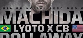 'UFC Fight Night 58: Machida vs. Dollaway' weigh-in results and video