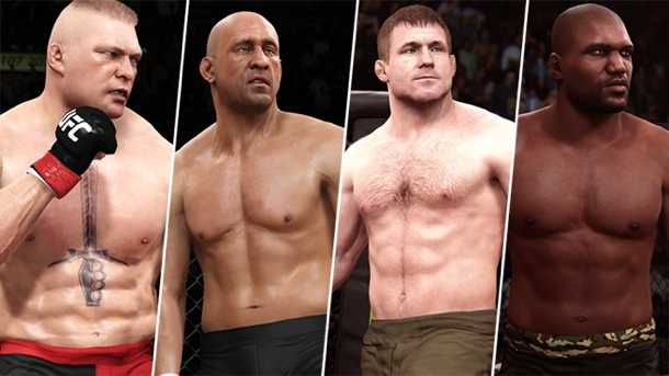 EA Sports UFC game adds legendary fighters in free update