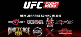 UFC Fight Pass Adds More Libraries