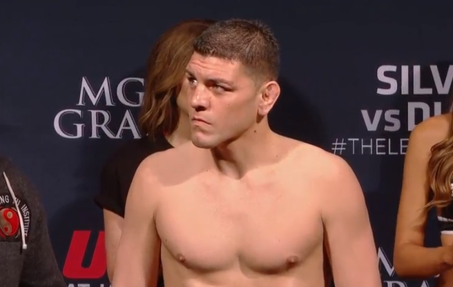 Check out Diaz's response after Woodley's call out, his GSP accusations