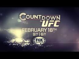 UFC184 Countdown