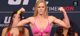 UFC 193: Ronda Rousey gets knocked out by Holly Holm