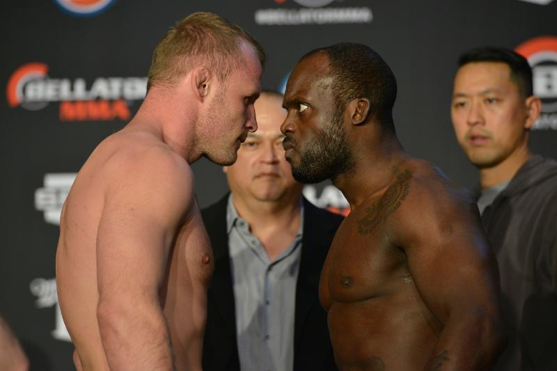 'Bellator 133: Manhoef vs. Shlemenko' weigh-in results and staredown photos