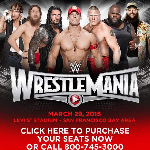 Here they are  The current WrestleMania 31 betting odds  courtesy of    Wrestlemania 24 Poster