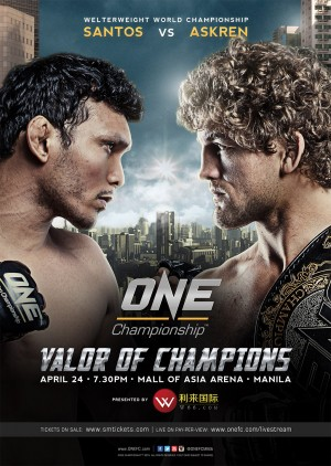 Ben Askren takes on Luis Santos in 'ONE: Valor of Champions' Main Event