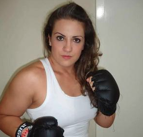 "New Bellator women's featherweight fighter Roberta ""Crusher"" Paim"