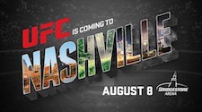 UFC to make long-awaited return to Nashville on Aug. 8