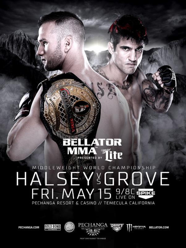 'Bellator 137: Halsey vs. Grove' card complete with 13 fights
