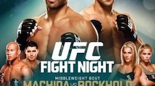 'UFC on Fox 15: Machida vs. Rockhold' weigh-ins live stream