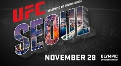 UFC to hold event in South Korea in November