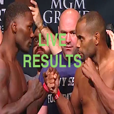 UFC187 live results featured