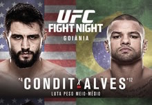 UFC Fight Night 67: Condit vs. Alves complete betting odds