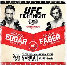 UFC Fight Night 66: Edgar vs. Faber live results and updates