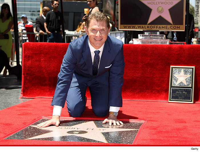 Chef Bobby Flay gets owned during walk of fame ceremony