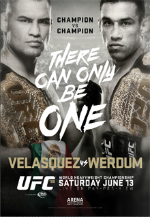 UFC 188: Velasquez vs. Werdum full card