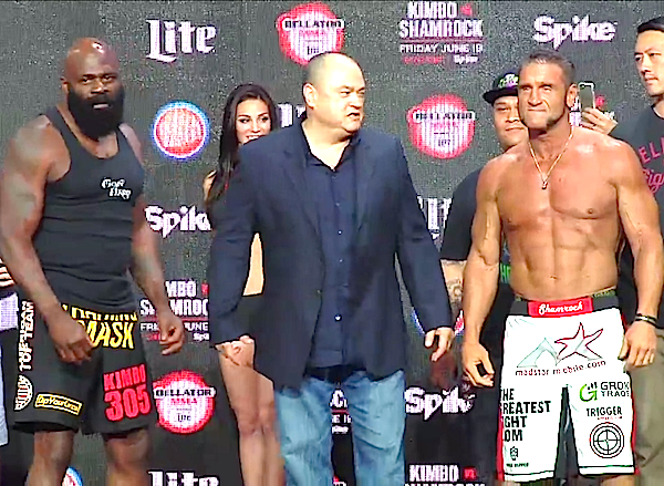 kimbo slice vs ken shamrock