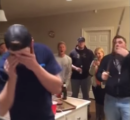 Drunk idiot ruins party after slicing off friend's nose with Samurai sword (VIDEO)