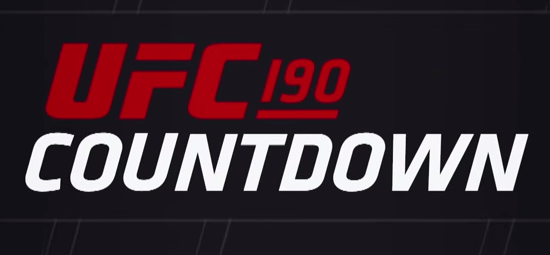 Countdown to UFC 190: Rousey vs. Correia *Full Episode*
