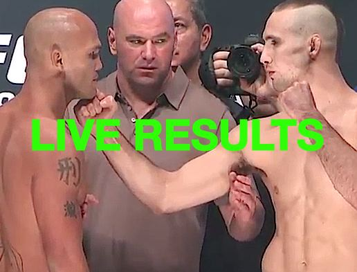 UFC189 results