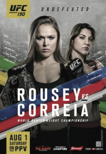UFC 190: Rousey vs. Correia full card