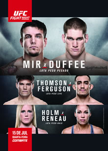 UFC Fight Night 71: Mir vs. Duffee full card