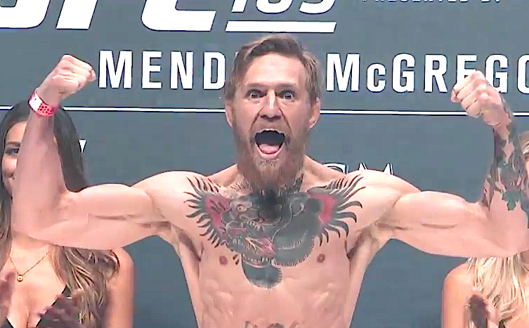 Welcome to the Conor McGregor show!