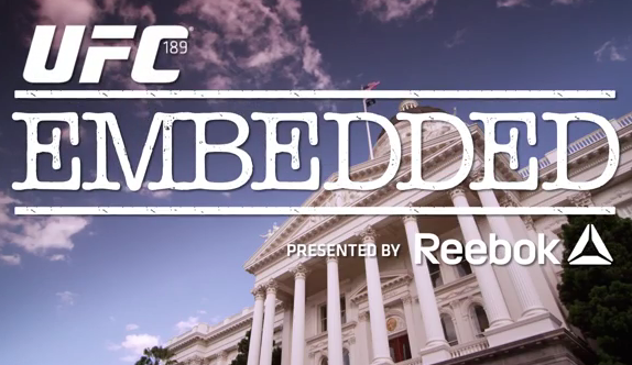 UFC 189 Embedded – episode 5