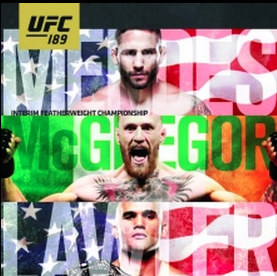UFC 189: Mendes vs. McGregor conference call live stream