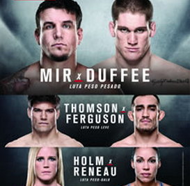 UFC Fight Night 71: Mir vs. Duffee LIVE results