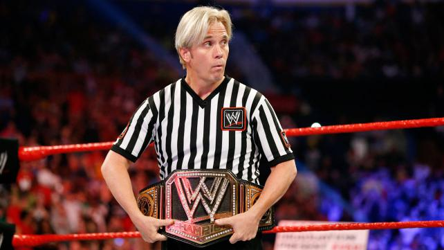 Referee Charles Robinson talks controversial finish to SummerSlam main event