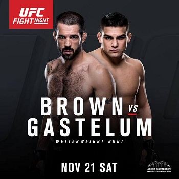 Kelvin Gastelum vs. Matt Brown to headline UFC Fight Night Monterrey