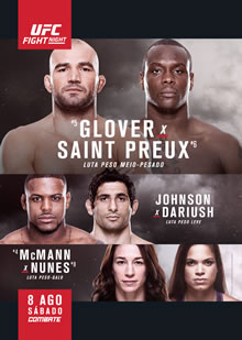 UFC Fight Night 73:  Teixeira vs. Saint Preux full card