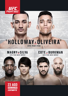 UFC Fight Night 74: Holloway vs. Oliveira full card