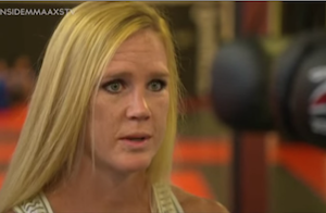Holly Holm: 'I haven't even fought anybody in the top 5′