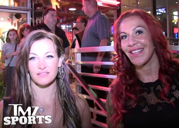Miesha Tate and Cris Cyborg together talk about the Rousey vs. Holm matchup (VIDEO)
