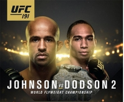 'UFC 191: Johnson vs. Dodson II' live results and round-by-round updates