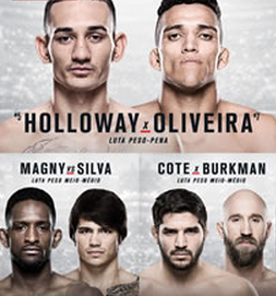 UFC Fight Night 74: Holloway vs. Oliveira live results and round-by-round updates