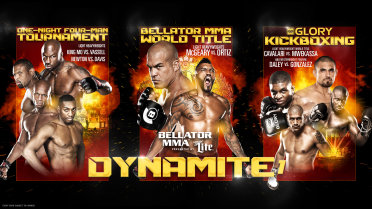 Bellator MMA & Glory: Dynamite 1 live results and round-by-round updates