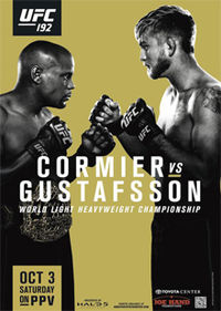 UFC 192: Cormier vs. Gustafsson full fight card