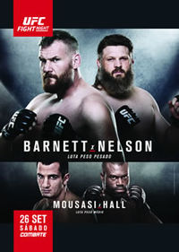 UFC Fight Night 75: Barnett vs. Nelson full card
