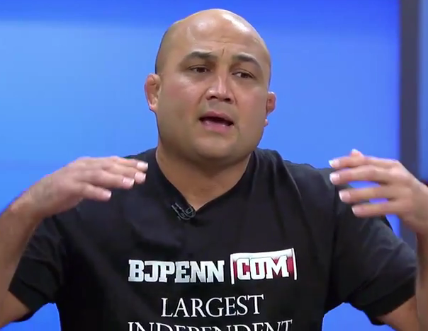 BJ Penn says he's back and calls out Mike Dolce