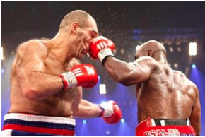 boxing-inelastic collission