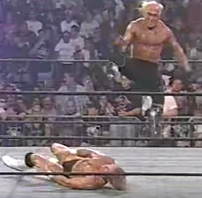 Hollywood Hogan vs. Lex Luger WCW 1997  / screen capture