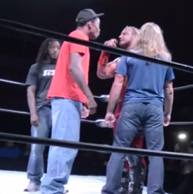 Pro wrestler takes on three MMA fighters *VIDEO*