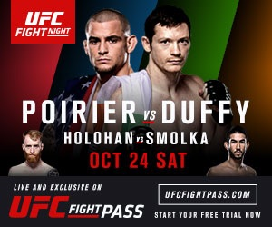UFC Fight Night: Poirier vs. Duffy full card