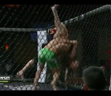 Video: There was a terrible injury on the CES MMA XXXI card